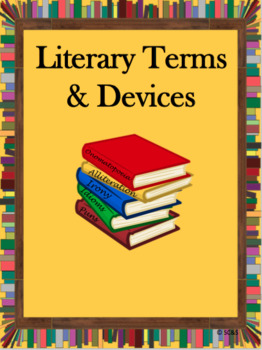 Literary Devices/Figurative Language Bundle - Worksheets, Quizzes, and Test