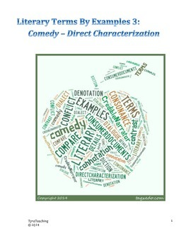 Literary Terms by Examples 3: Comedy - Direct Characterization