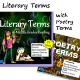 Literary Terms -with Poetry Terms