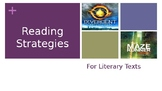 Literary Text Strategies (Reading Strategies) PowerPoint
