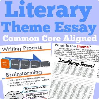 Literary Theme Essay (Common Core Aligned)