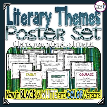 Themes in Literature Poster Set