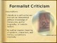 Literary Theory/Criticism Overview