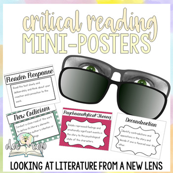 Literary Theory Mini-Posters