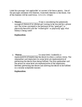Literary Theory Test