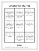 Literary Tic-Tac-Toe