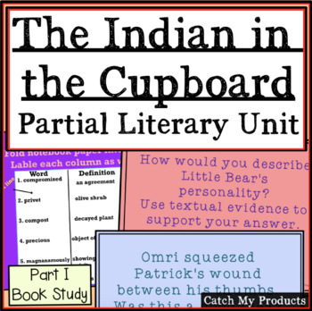 Literary Unit for Indian in the Cupboard (Chapters 1-8) fo