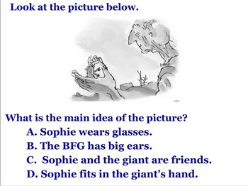 Literary Unit for The BFG (Part II Chapters 13-24) for Power Point
