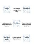 Literary Vocabulary Memory Game