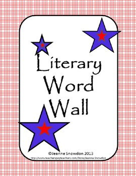 Literary Word Wall