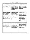 Literary Writing Grid - Tic-Tac-Toe Choice Grid for Making
