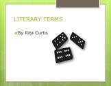 Literary terms Grades 5-8