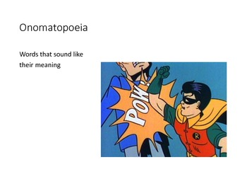 Learning Literary Terms with Comics (a Power Point presentation)