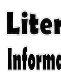 Literary/Informational Signs