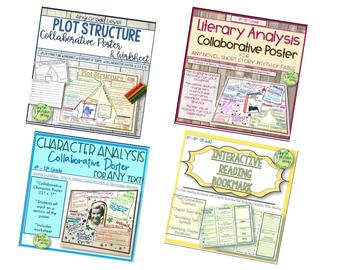 Literature Activities Bundle, Oh My!