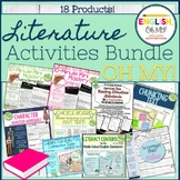 Literature Activities Bundle, Oh My!