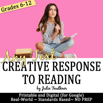 Creative Activities, Supplement Fiction, Nonfiction, & Poetry, Fun & Text-Based
