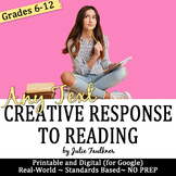 Assignments for Any Novel, Short Story, Poetry & Nonfiction, Creative Activities