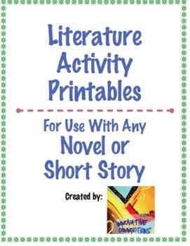 Literature Activities & Response Pack: Text Structures & Lit Elements