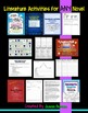 Literature Activities for ANY Novel or Story: 100+ Handouts BUNDLE