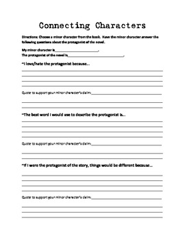 Literature Activities for Any Novel