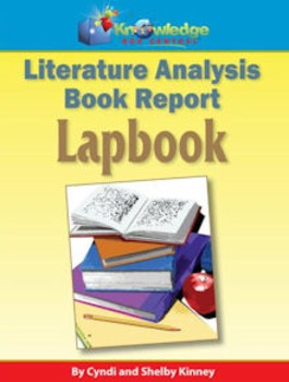 knowledge box central literature analysis/book report lapbook