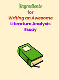Literature Analysis / Guided Reading / Writing MEGA Pack (Common Core)