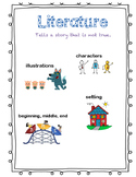 Literature Anchor Chart