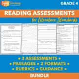 Fourth Grade Literature Assessments - Constructed Response Tests
