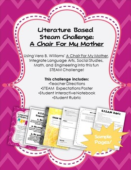 Literature Based STEAM Challenge: A Chair For My Mother