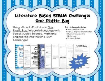 Literature Based STEAM Challenge: One Plastic Bag