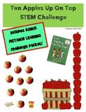 Literature Based Storybook STEM Challenge: Ten Apples Up On Top