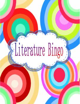 Literature Bingo! Guided Reading! Homework Packet