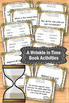 A Wrinkle in Time Book by Madeleine L'Engle Worksheets & A