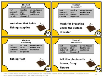 The RAFT Activities by Jim LaMarche, 3rd Grade Reading Comprehension