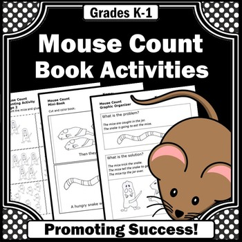 Mouse Count Ellen Stoll Walsh ELA Emergency Sub Plans 1st Grade 2nd Grade
