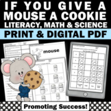 If You Give A Mouse a Cookie Book Companion ELA Emergency Sub Plans