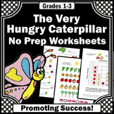 The Very Hungry Caterpillar ELA Emergency Sub Plans 2nd Grade Book Companion