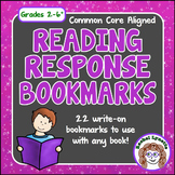 Reading Response Bookmarks