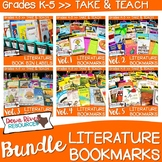 Literature Bookmarks for Picture Book Read Aloud {Take and Teach BUNDLE}