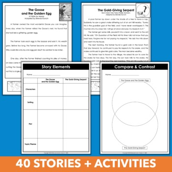 Fourth Grade Reading Curriculum Units - Literature Skills Bundle