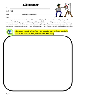 Literature Circle: 13 Comprehension Activies and Character Development