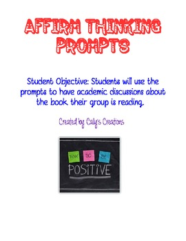 Affirm Thinking Question Stems