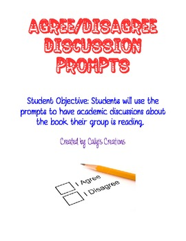 Agree/Disagree Question Stems