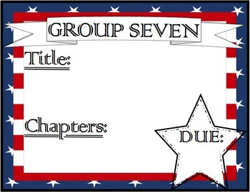 Book Club / Guided Reading Assignment Reminder Sheets + Listening Center FREEBIE