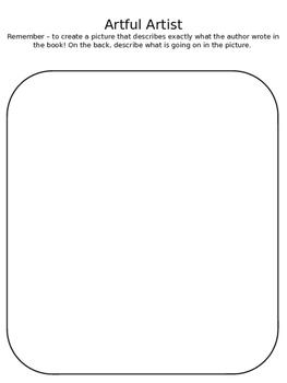 Literature Circle Bingo Board Assignments