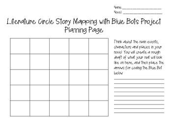 Literature Circle Blue Bot Project