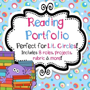 Literature Circles and Reading Booklet With Roles, Choice