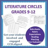 Literature Circles--Role Sheets, Evaluation Rubrics, Expec