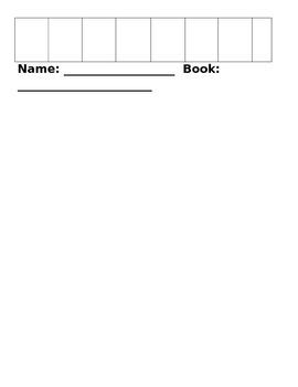 Literature Circle Calendar